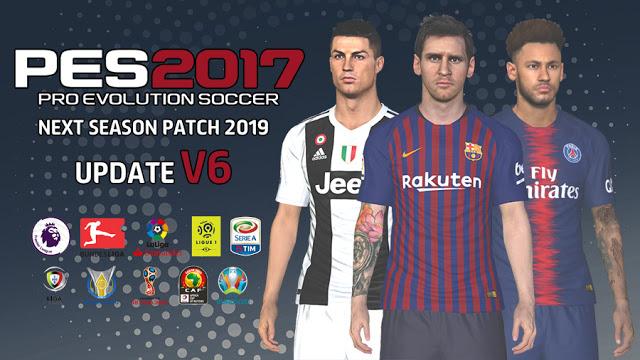 PES 2017 Next Season Patch 2019 Update v6.0