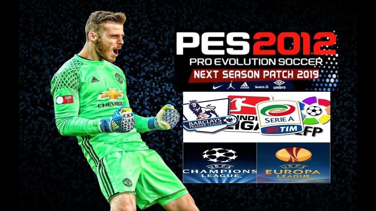 PES 2012 Next Season Patch 2019 + PES 2012 Next Season 2019 Update V1.0