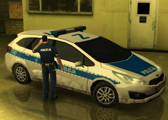 [GTA SA] Kia Cee'd Polish National Police