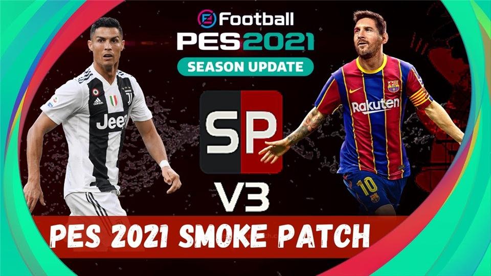 PES 2021  SmokePatch 21.1.0 + Mega Facepack