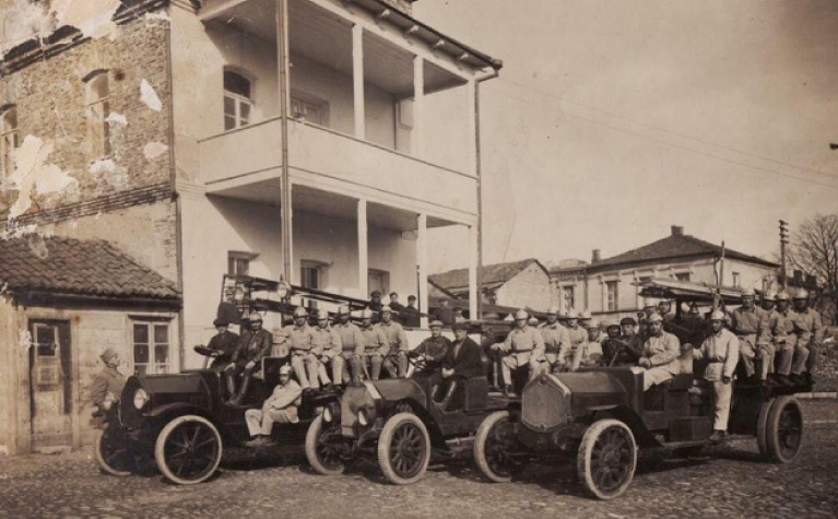 პირველი სახანძრო მანქანები ქუთაისში