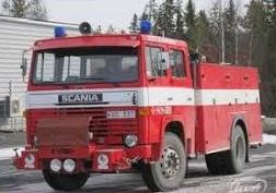 სახანძრო ავტოცისტერნა  SCANIA LB 81 S 38165