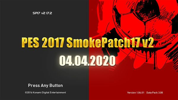 PES 2017 SMoKE Patch 17 V2 Season 2019/2020
