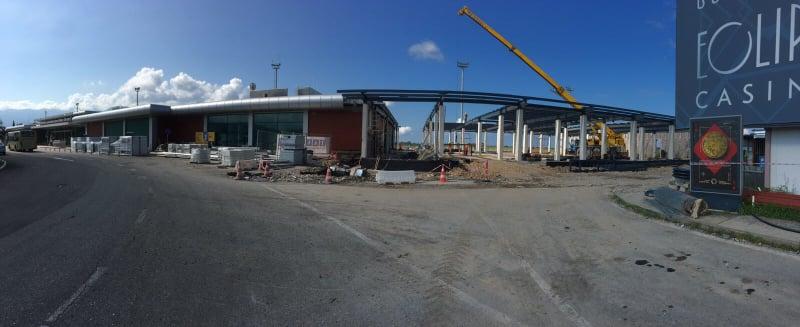 Construction of Batumi Airport