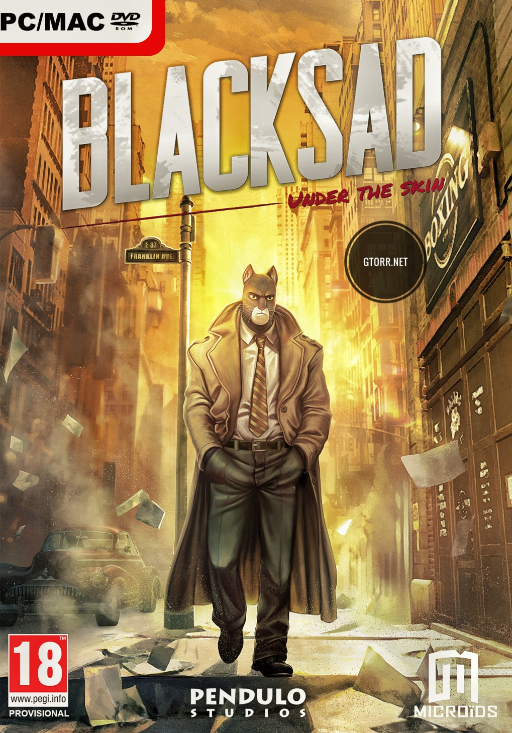 Blacksad: Under the Skin |  Razor 1911