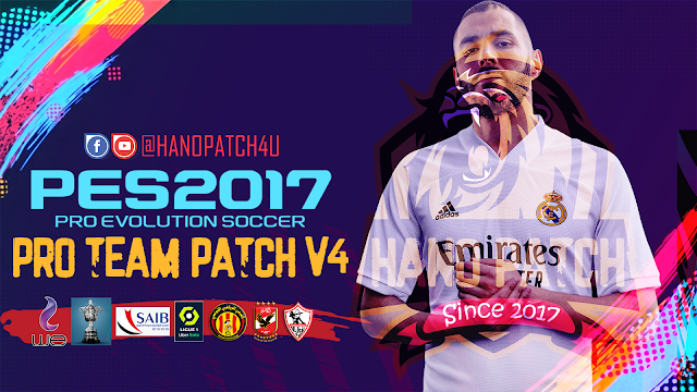 PES 2017 PRO TEAM PATCH V4 AIO New Season 2021