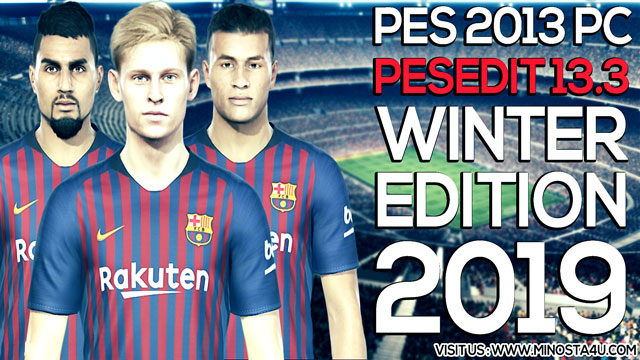 PES 2013 PESEdit 13.3 Patch Update Winter Season 2019