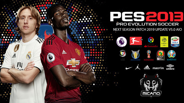 PES 2013 Next Season Patch 2019 Update v5.0 AIO