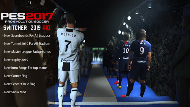 PES 2017 Multi Switcher New Season 2019 AIO