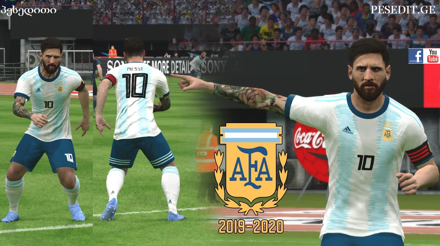 PES 2017 Argentina Local v2 2019 Kit For All Patches