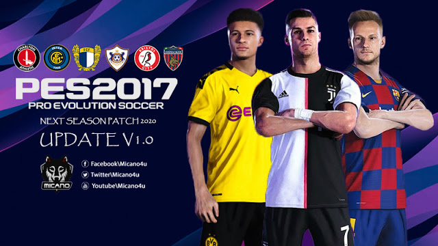 PES 2017 Next Season Patch 2020 Official Update v1